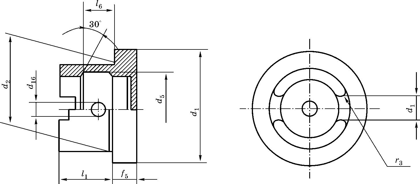 Конический хвостовик для станков c ЧПУ типа HSK DIN 69893 форма C