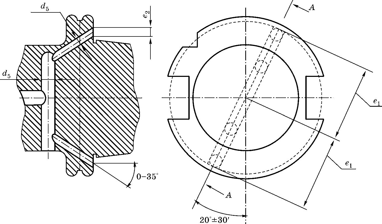 Конический хвостовик по DIN 69871 B для станков c ЧПУ с центральной подачей СОЖ через фланец