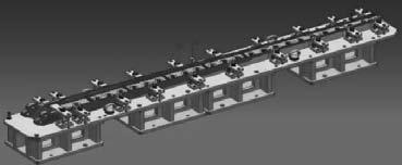 конструкция приспособления для обработки деталей с двусторонним оребрением