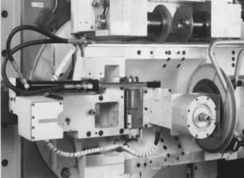 Контрольный датчик на профилешлифовальном станке для измерения параметров зуба колес с внешним зацеплением