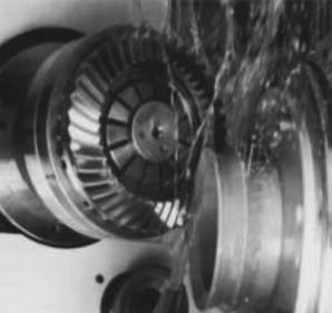 Нарезание колеса с круговым зубом методом вышлифовки по целому