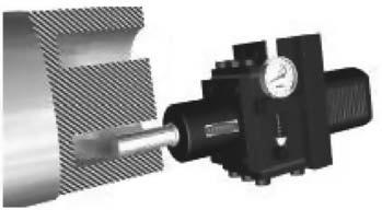 Обкатывание цилиндрических поверхностей торцовых канавок на станке с ЧПУ