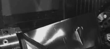 Обработка лопатки турбины