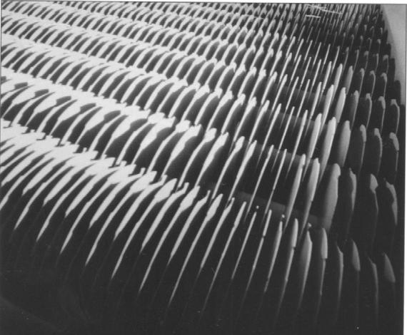 Общий вид дискового ориентирующего устройства для крупноразмерной стружки (Siempelkamp)