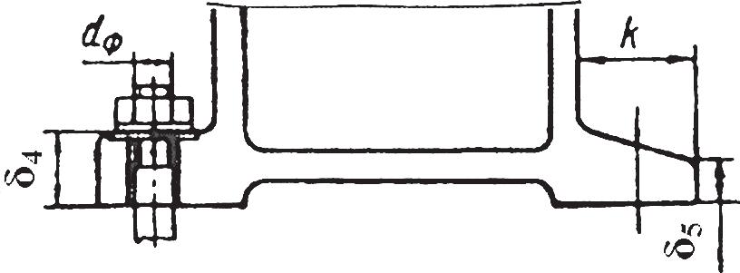 Определение конструктивных элементов основания редуктора