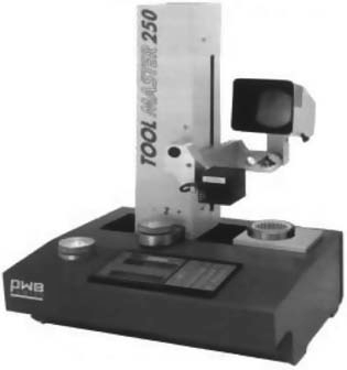 Оптический прибор для настройки инструмента на размер вне станка