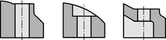 Отверстия технологичные для обработки сверлами, зенкерами и развертками