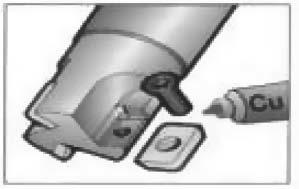 Противопригарная смазка для нанесения на крепежные винты инструмента