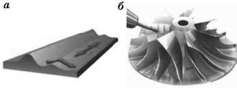 Растровое фрезерование поверхностей двойной кривизны