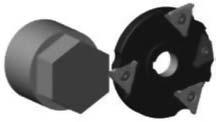 Схема обработки шестигранной поверхности