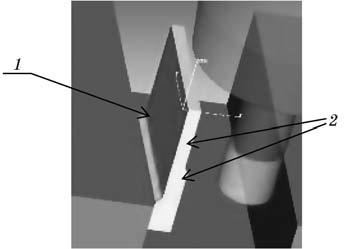 Схема обработки стрингера