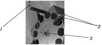 Схема подвода смазочных составов к инструменту в револьверной головке