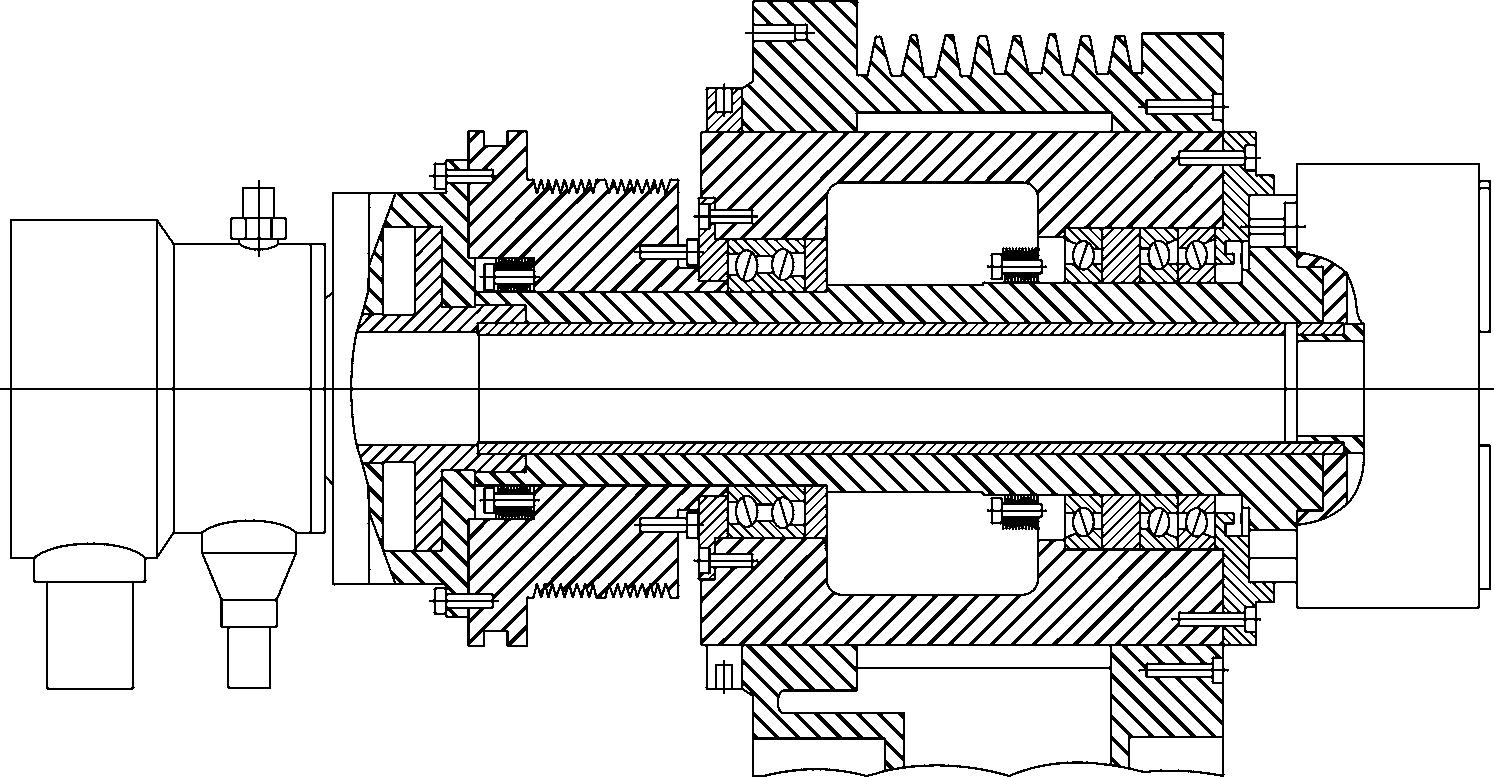 Шпиндельная группа современного токарного станка