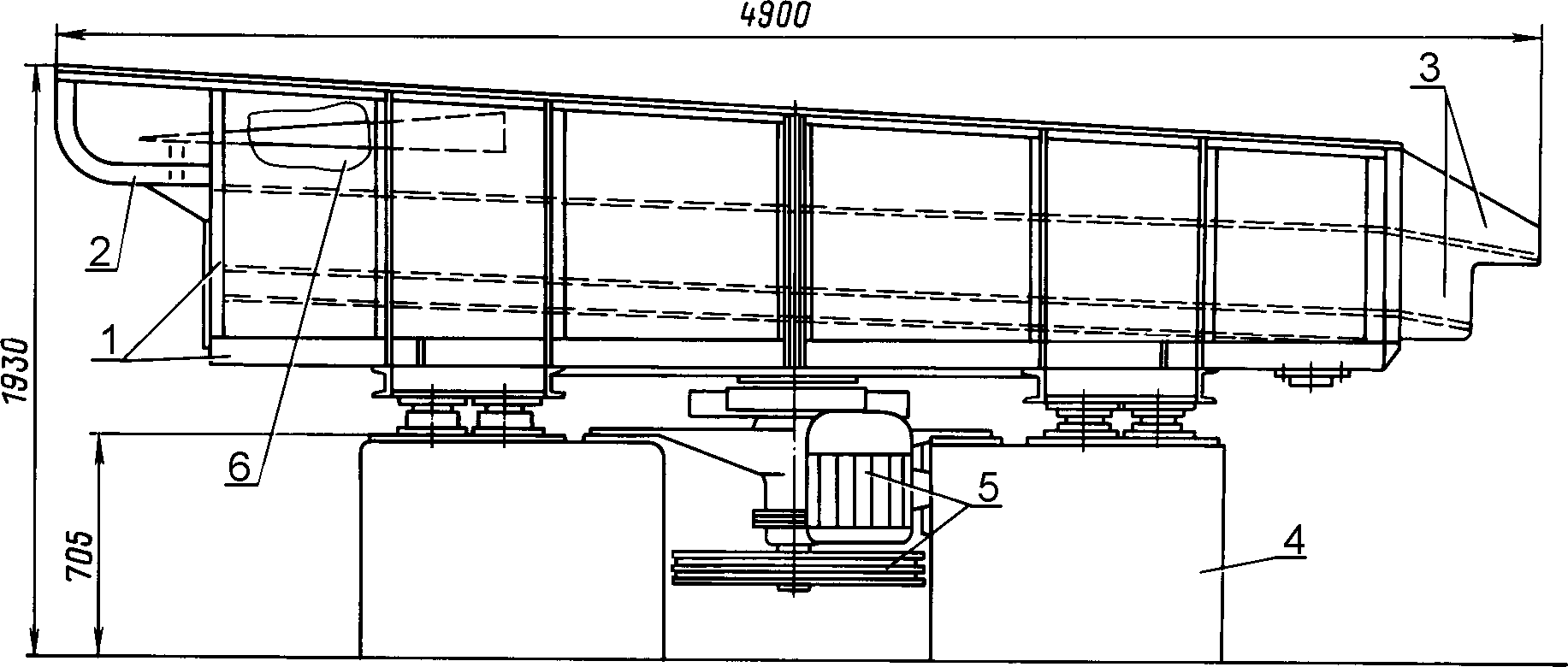 Сортировка щепы плоская СЩ-120