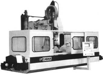 Современный фрезерный станок с ЧПУ модели ФП27ВС3