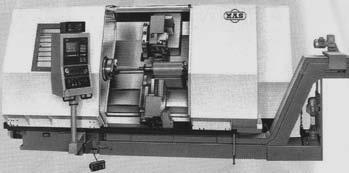 Современный токарно-центровой станок с ЧПУ модели SPU20