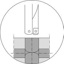 Сверление отверстий в деталях с пересекающимися осями
