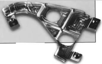 Типовая деталь после обработки на станке с ЧПУ