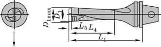 Типовая конструкция сверла с МНП