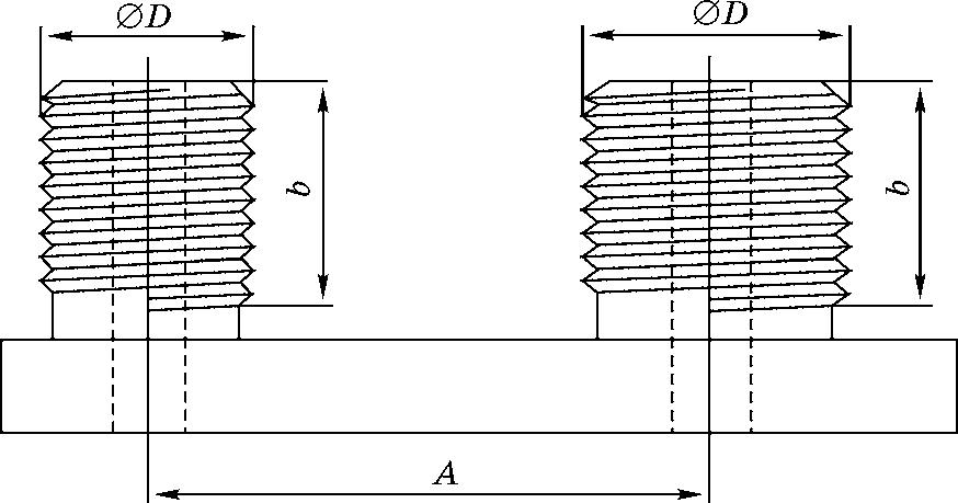 Типовой конструктивный элемент гребенки