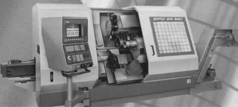 Токарный станок с двумя приводами главного движения и двумя револьверными головками