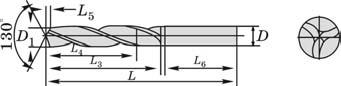 Трехкромочные сверла