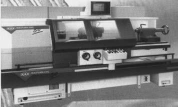 Универсальный токарный станок с ЧПУ