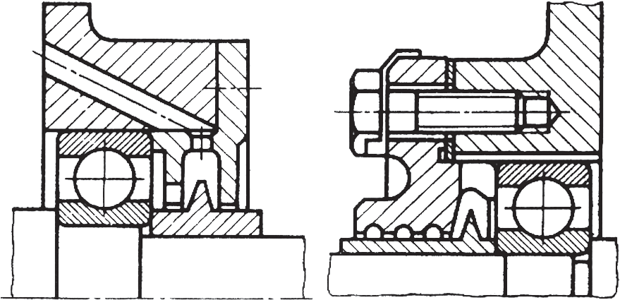 уплотнения центробежного типа