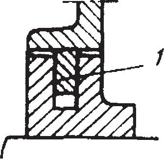 Уплотнения из латунных колец