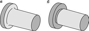Варианты конструктивного оформления валов с обеспечением перпендикулярности торцовых поверхностей к оси вала