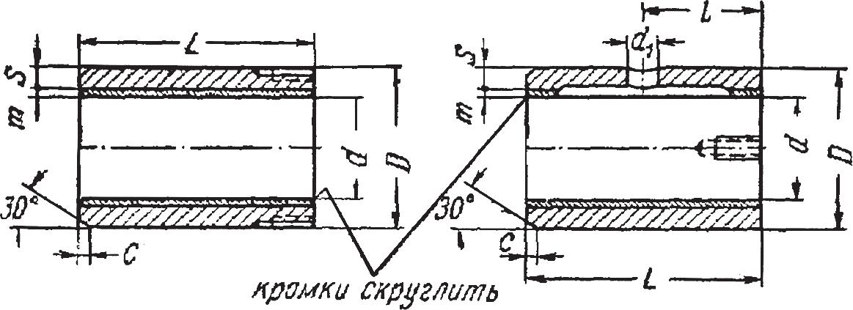 Втулки подшипниковые биметаллические
