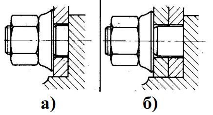Центрирование по центральному отверстию одиночных и сдвоенных колес