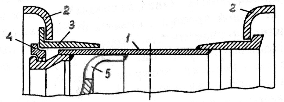 Колесо широкопрофильной шины