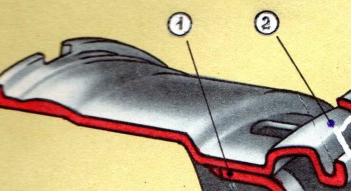 Полуглубокий обод дискового колеса