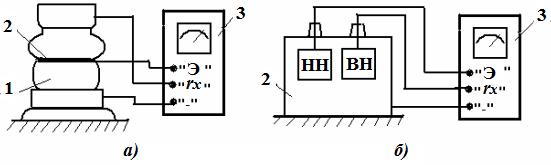 Экранирование при измерении сопротивления изоляции