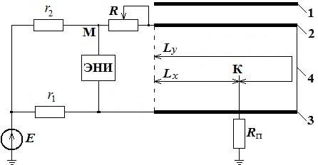 Определение расстояния до места повреждения кабеля методом петли Варлея