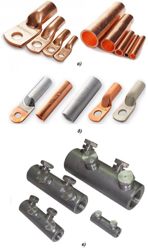 Соединительные гильзы и наконечники