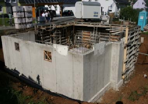 Устройство гидроизоляции по технологии Rascor