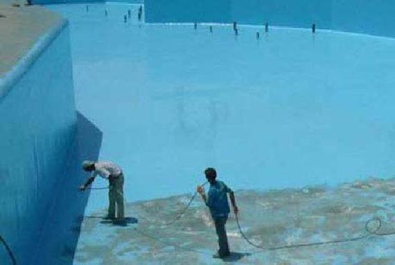 Устройство мастичной полимерной гидроизоляции методом напыления