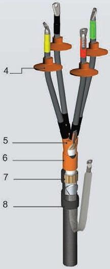 кабельная концевая муфта