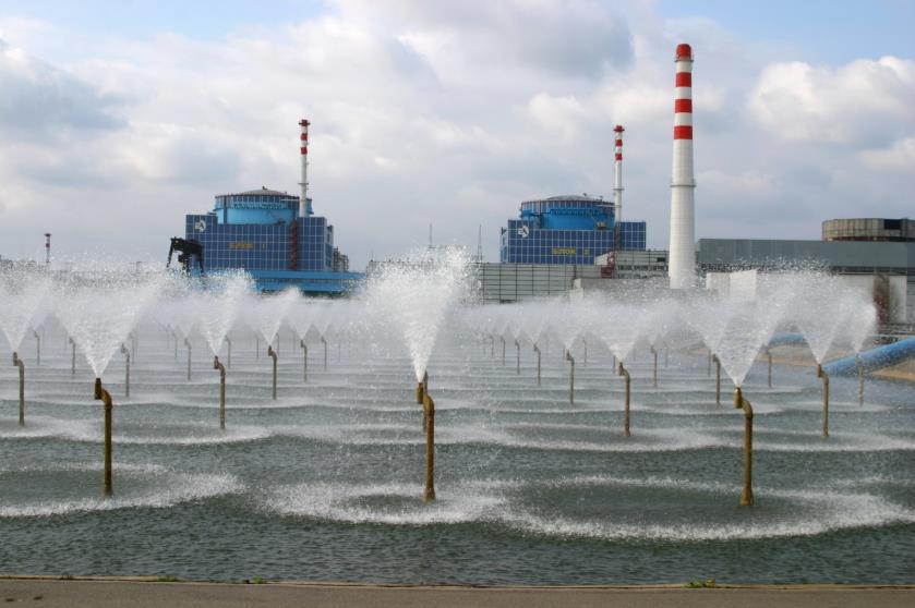 брызгальный бассейн Хмельницкой АЭС