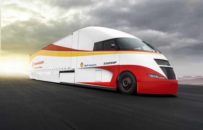 грузовик с использованием Фотобатарей (фотоэлектрических модулей)