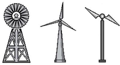 Конструкции ветроагрегатов -вертикально-осевая