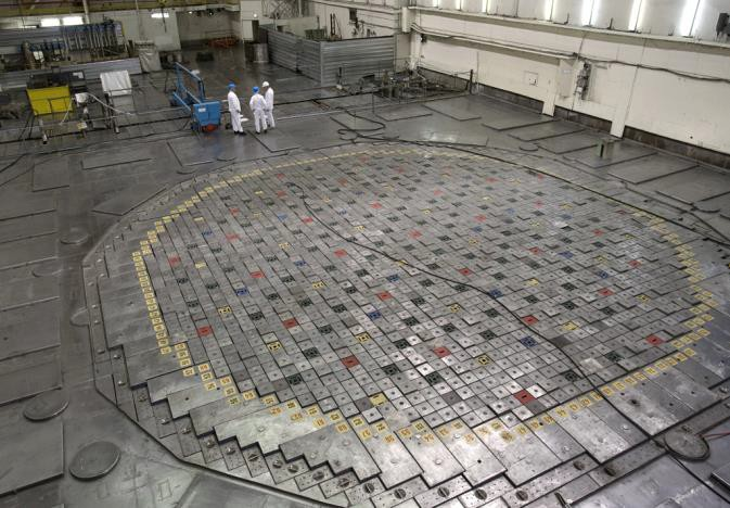 крышка реактора