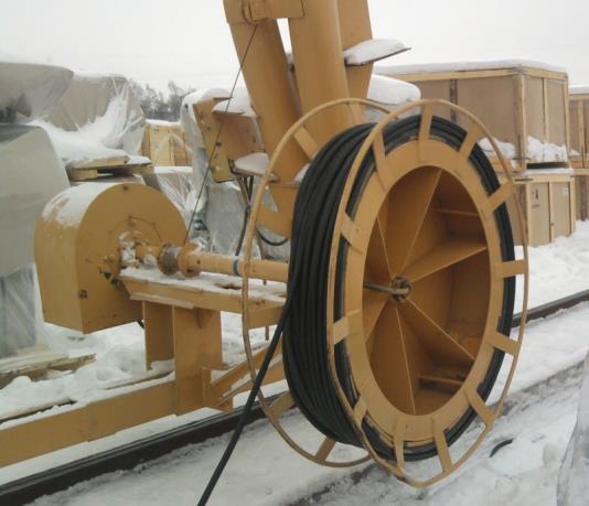 моторный кабельный барабан, тяжелая серия
