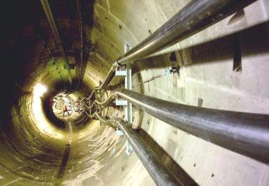 Прокладка кабелей в кабельном туннеле