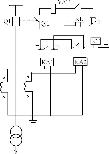Схема МТЗ силового трансформатора