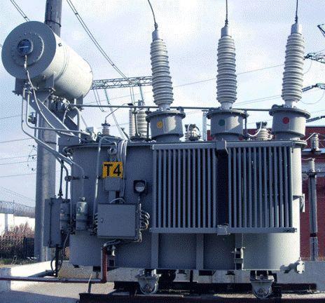 Силовой трансформатор с масляным охлаждением мощностью 1000—6300 кВА напряжением 35 кВ