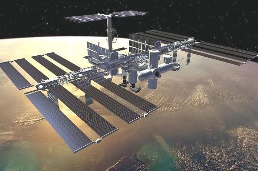 Солнечные батареи на международной космической станции