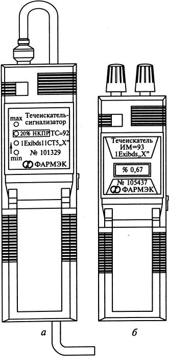 течеискатель-сигнализатор и измеритель метана ИМ-93